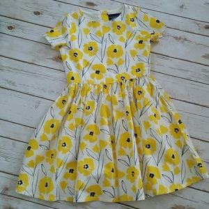 Girl's Floral Dress